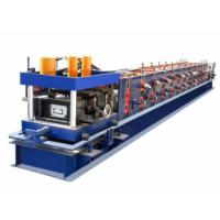 High Efficiency CZ Purlin Roll Forming Machine PLC Control System With Servo Motor