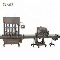 China Customized High Speed Bottle Capping Machine 800-4200 Bottles / Hour on sale