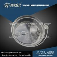 Buy cheap professional take away thin wall coffee cup cover mould manufacturer from wholesalers