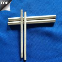 Customized Drawing Tungsten Silver Alloy Bar / Rod High Arc Corrosion Resistance Manufactures