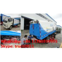 2017s new cheapest price CLW Brand road sweeping vehicle for sale, hot sale! good price mini road cleaning truck Manufactures