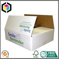 Color Flexo Print Single Wall B Flute Corrugated Cardboard Packaging Box Manufactures