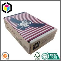 Single Wall Corrugated Cardboard Shipping Box; Custom Color Print Mailing Box Manufactures