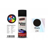 Head Light Black Color Rubber Coat Spray Paint For Wheel Brushing APK-8201-24 Manufactures