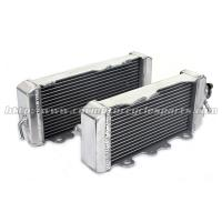 Quality Professional Custom Motorcycle Radiator / High Performance Radiator For KAWASAKI KX250F parts for sale