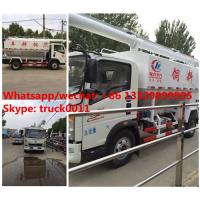 Buy cheap Factory sale SINO TRUK HOWO LHD 12m3 farm-oriented animal feed truck, best price HOWO livestock and bulk feed vehicle from wholesalers
