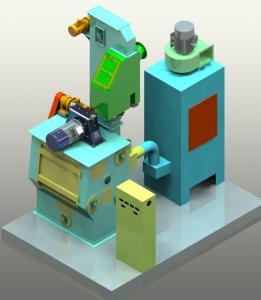 Q326 1200kg/h Tumble Shot Blasting Machine Cleaning Machinery Equipment Manufactures