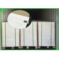 Buy cheap Great Strength 610mm 860mm 140gsm 170gsm White C1S Kraft Paper For Packages from wholesalers
