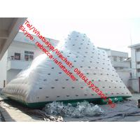 Inflatable water iceberg floating water climbing inflatable iceberg water toy Manufactures