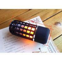 China 2018 New Bluetooth Speaker Wireless Bluetooth Flame Light Card Portable Radio Speaker Bass on sale