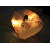 12 Watt LED Bubble Making Machines Built-in Sound Active LEDs For Home Use Private Party X-021A Manufactures