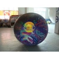 Reusable durable Big PVC helium balloon with total digital printing for advertising Manufactures
