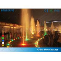 Colored LED Underwater Light , IP 68 Submersible Swimming Pool Lights Waterproof Manufactures