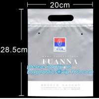 CLOTH BAGS,swimwear packaging bag/swimsuit packaging clothes plastic bag with air hole&logo printing,frosted pvc bag zip Manufactures