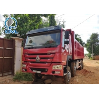 China New HOWO7 Dump Truck  6 x 4 10tires for 40T load with 12.00R20 tire Tipper truck on sale