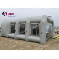 Gray 8*5*3m Customized Portable Paint Booth Tent Car Paint For Promotion Manufactures