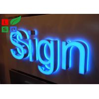 Quality Stainless Steel Framed Outdoor Lighted Business Signs IP65 For Street Sign for sale