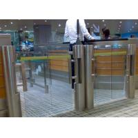 Quality Security Supermarket Swing Barrier Gate Intelligent Management System for sale
