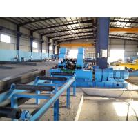 Industrial Automated  H Beam Welding Line With Hydraulic Pressure System Manufactures