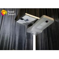 China Waterproof Intelligent Solar Street Light 2500-2800lm With Aluminum Alloy Body on sale