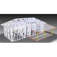 China Light Steel Structure Bungalow , Sandwich Cladding Strong Mobile House on sale