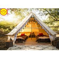 Multifunctional Outdoor Canvas Inflatable Tent 4m 5m Saraha Camping Tipi Tent Manufactures