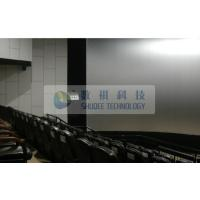 Indoor Curved screen cinema 4d motion system with 2014 Newest 5D 6D 7D XD films Manufactures