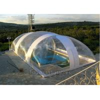 Easy Install PVC Bubble Dome Tent Cover , Inflatable Swimming Pool Dome Tent Manufactures