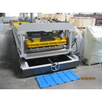 5.5KW Tile Roll Forming Machine Automatic Cutting 380V / 3P / 50HZ