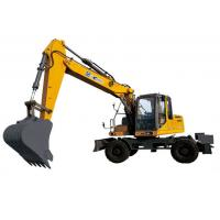 XE150W Excavator 104kw Earthmoving Machinery Powerful digging force Manufactures