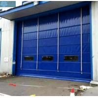 Stacking 100mm 0.8mm Curtain Garage Roller Shutters Manufactures