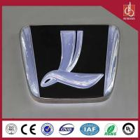 China Advertising outdoor thin acrylic 3D custom export car logo for wholesale in led light box on sale