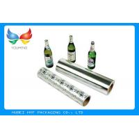 Single Coating Side Metallized Plastic Film Recycled Pulp Style For Beer Label Manufactures