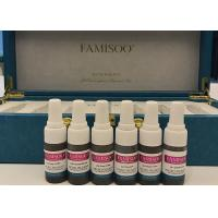 Famisoo Permanent Makeup Eyebrow Pigment Kit For Manual Pen And Machines Manufactures