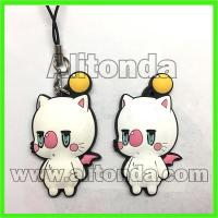 Buy cheap Custom pvc cartoon cute animal figures pendants for keychains phone bags from wholesalers