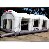 Open Face Dry Blow Up Spray Booth / Portable Auto Paint Booth For Mechanical Workshop Manufactures