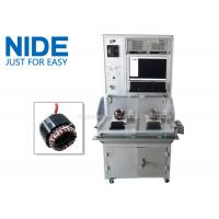 Buy cheap NIDE Double stations electric motor stator testing panel equipment testing machine from wholesalers