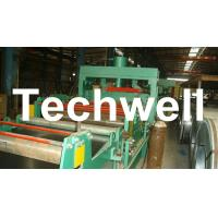 4 - 8m/min Steel Silo Corrugated Wall Panel Roll Forming Machine For Galvanized Sheet Manufactures