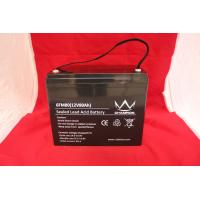 Solar UPS Power Supply , 12v80ah Deep Cycle Lead Acid Battery For Emergency Lighting Manufactures