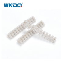 12 P Plastic X3 PVC Screw Terminal Block Strips For 10 Amp Power Cables Choc Block Cable Joiner Manufactures