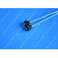 Quality Blue Slim Down Angle 7 Pin SATA Data Cable Female to Female With Locking Latch for sale