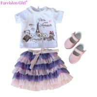 Wholesale doll cloth toy accessories for girl doll baby dress girl colorful cloth set Manufactures