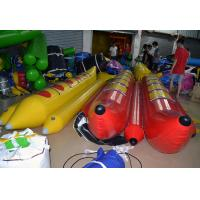 Quality Adult Seaside Inflatable Water Toys , Inflatable Water Banana Boat for sale