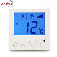 Air Conditioner Controller HVAC Thermostat , Adjustable Floor Heating Thermostat Manufactures
