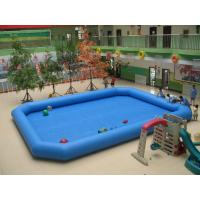 Square Inflatable Toy Family Swimming Pool , Summer Water Toys Manufactures