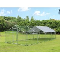 8Lx3Wx2H m Chicken Run Coop/ Animal Run/Chicken House/Pet House/Outdoor Exercise Cage Coop for Hen Poultry Dog Rabbit