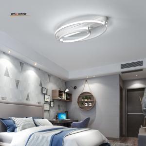 Quality New Aluminum+Acrylic Modern led ceiling lights for living room bedroom Home Dec Plafon home Lighting ceiling lamp for sale