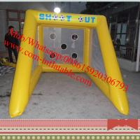 inflatable penalty shootout football game inflatable football goal inflatable soccer goals Manufactures