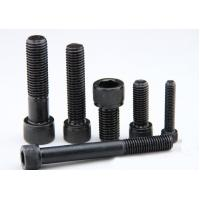Cylindrical Head 8mm Short Long Zinc Steel Machine Screws , Black Machine Bolts 12.9 Manufactures