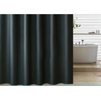Black Shading Bathroom Shower Curtains 100% PEVA Waterproof Thickening Manufactures